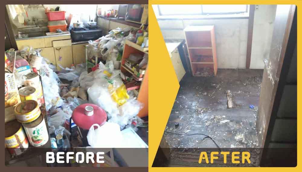 アパートの大家さんよりお部屋の片付けと不用品回収のご相談をいただきました。