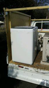 三島市にて洗濯機回収のお客様