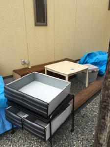 富士市でタンス、カーペット回収のお客様1