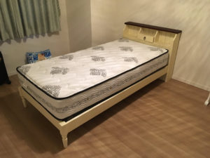 長泉町でシングルベッド回収の写真_1
