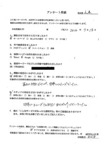 富士宮市で、マットレス回収のご依頼 お客様の声