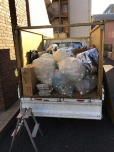 三島市にて、家庭ゴミ回収のご依頼1