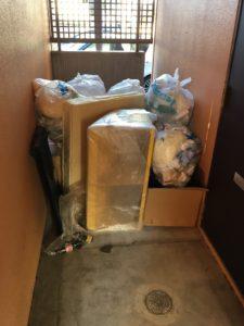 三島市にて、家庭ゴミ回収のご依頼2