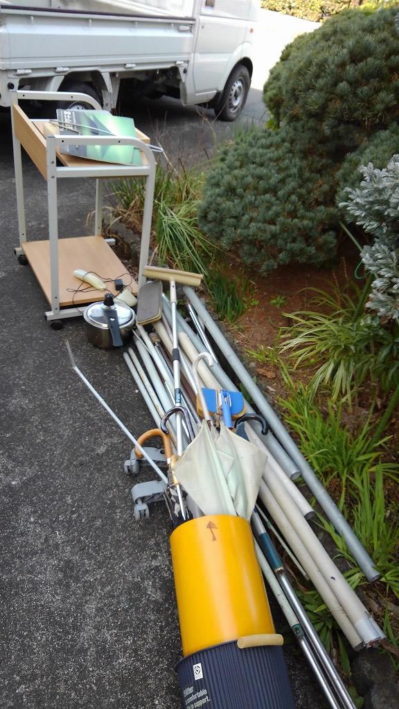 【富士市】軽トラック積み放題プランでいらないものをすべて回収☆一気に片付いたとお喜び頂けました。