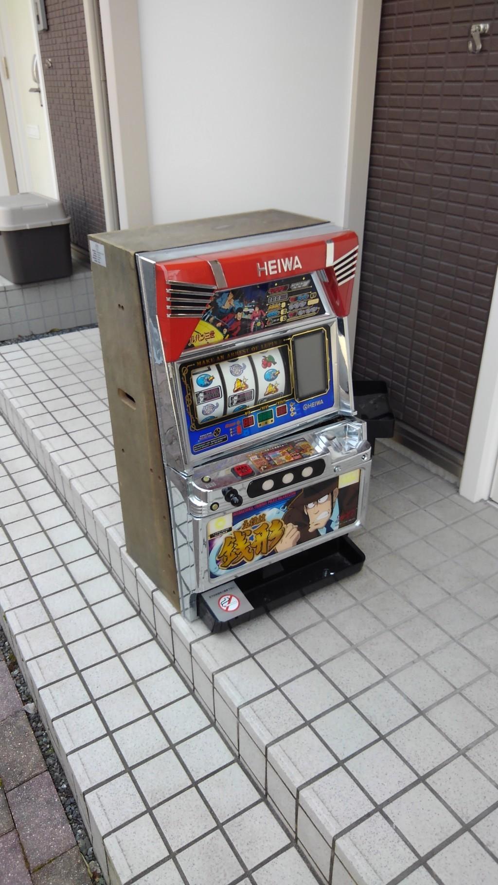 【富士宮市】パチスロ機の回収☆スタッフの迅速な対応に大変満足していただきました!