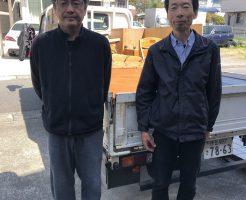 【静岡市清水区】学習机など軽トラック一台程度の不用品回収☆スタッフの丁寧な対応にとても満足していただきました!
