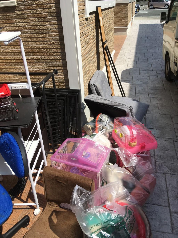 【袋井市】お引っ越しに伴う不用品処分