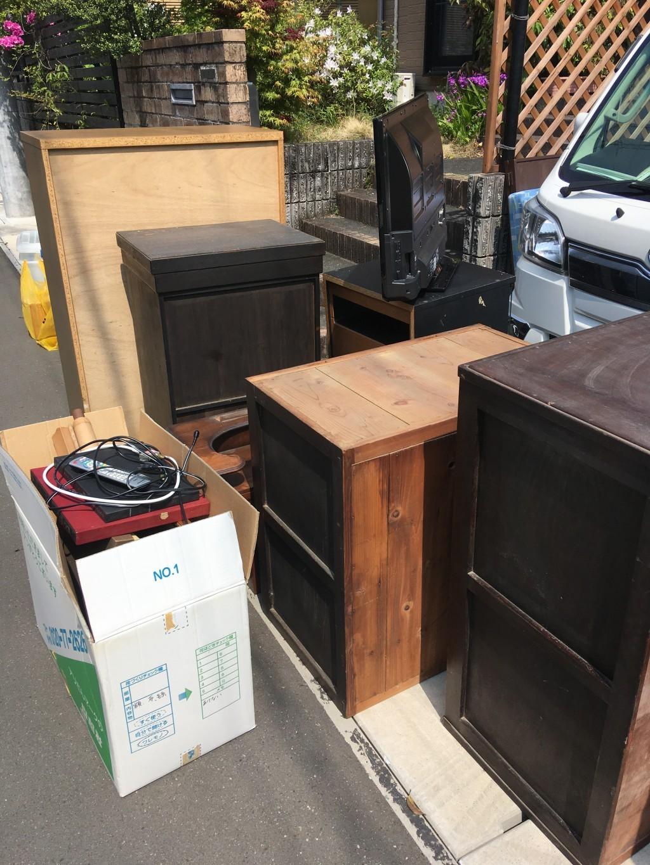 【静岡市葵区】仏壇、家財道具の回収☆希望通りの回収でご満足いただけました!