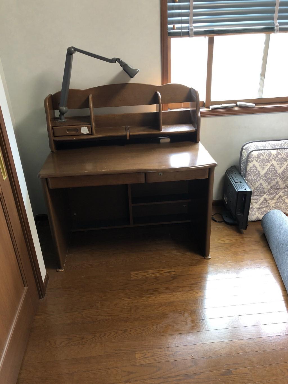 【三島市】学習机など不用品の回収☆スタッフも丁寧で優しい方だったとお喜びいただけました!