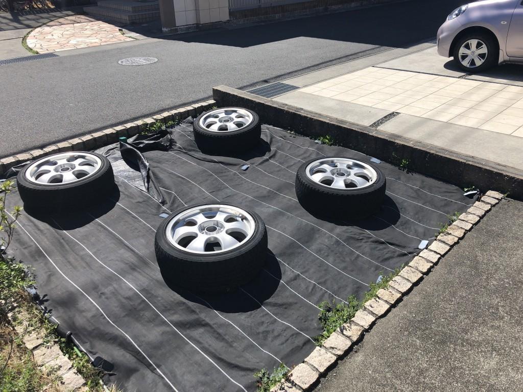 【富士市】自動車のタイヤ出張不用品回収・処分ご依頼 お客様の声