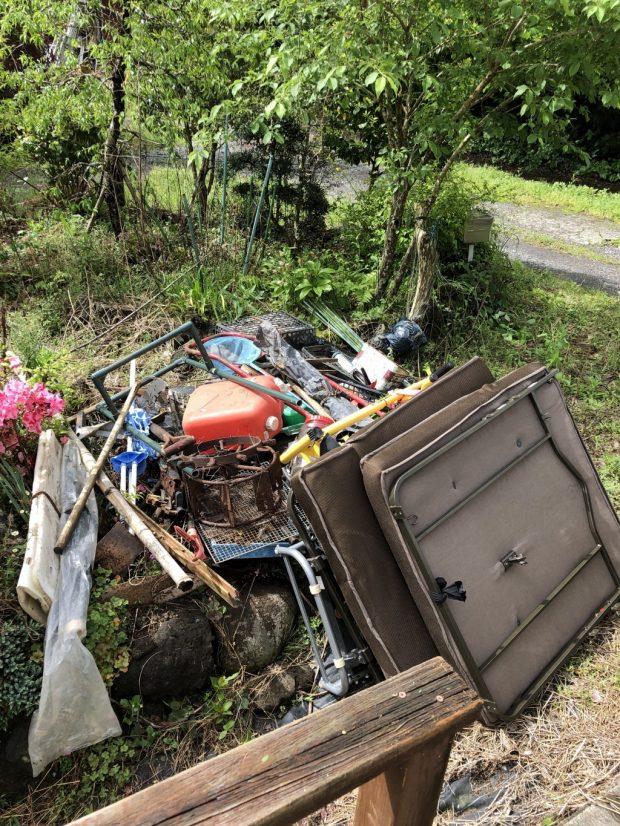 【伊東市】2tトラック1台分の不用品回収 お客様の声