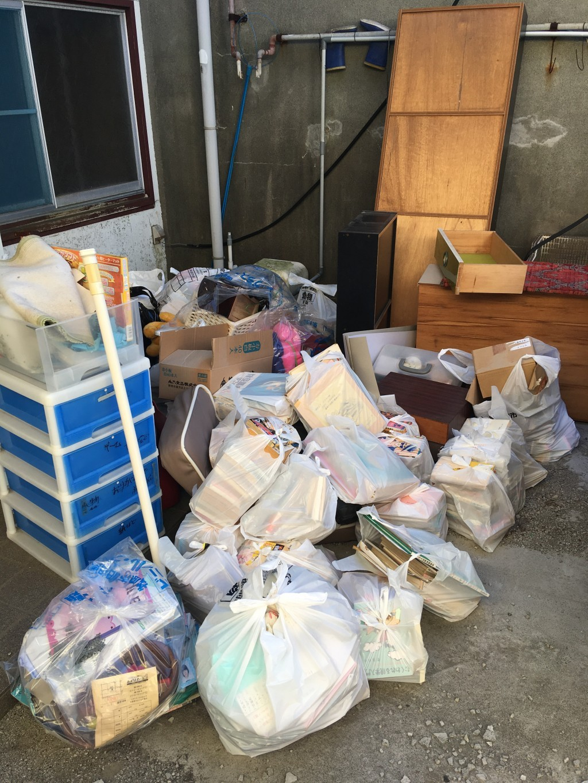 【熱海市】遺品整理に伴い大量のごみの回収&処分・荷物の移動 お客様の声