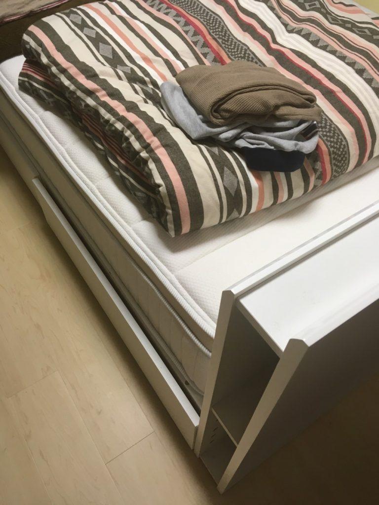 【磐田市】遺品整理でベッドなどの大型家具を回収・処分ご依頼 お客様の声