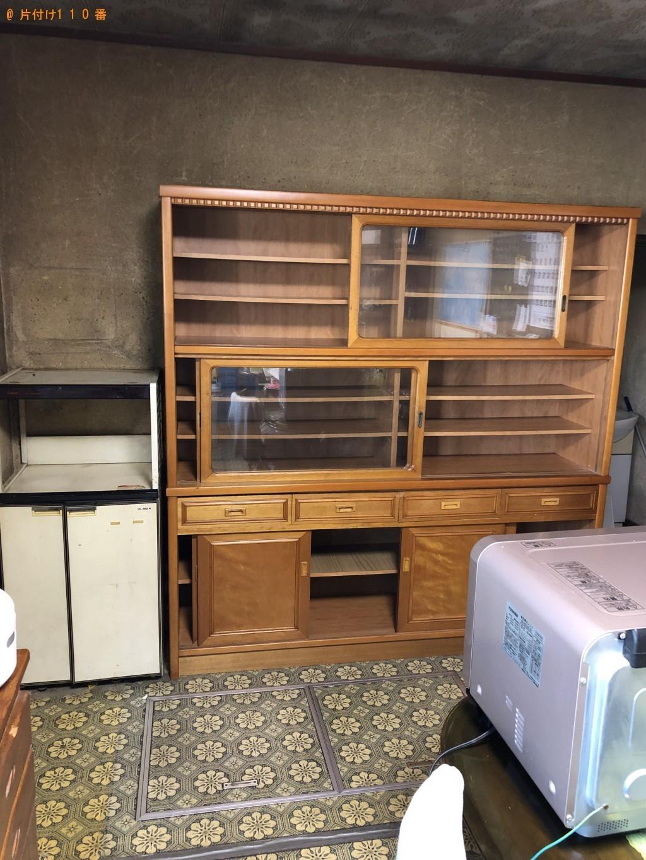 【川根本町】食器棚の回収・処分 お客様の声