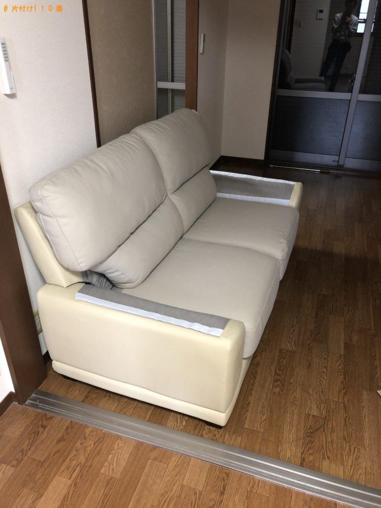 【伊東市】遺品整理に伴いソファー、カウンターテーブル、キャリーケース等の回収・処分 お客様の声