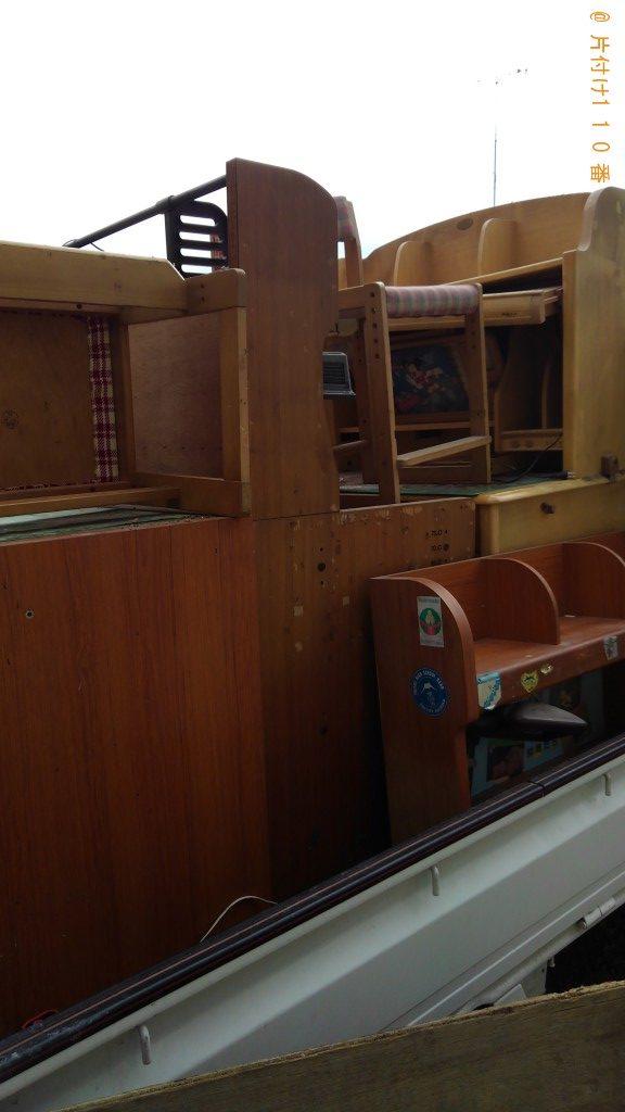 【富士宮市淀平町】学習机、回転いすの回収・処分ご依頼 お客様の声