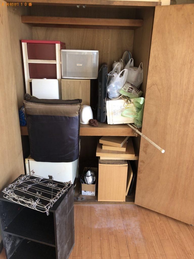【伊東市】冷蔵庫、カラーボックス、布団、分別なし衣類等の回収