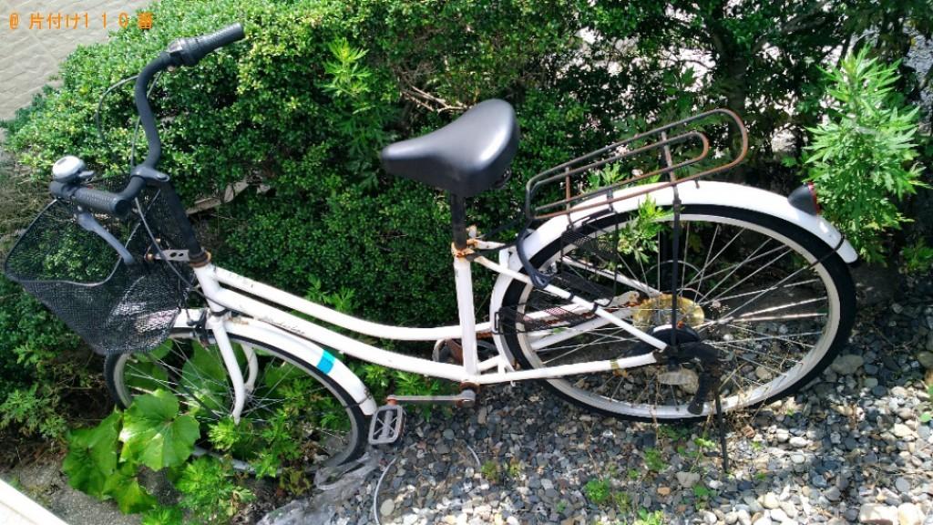 【浜松市西区】自転車、水槽台の回収・処分ご依頼 お客様の声