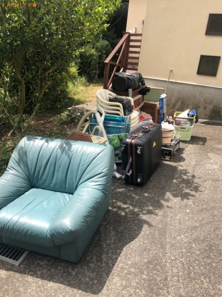 【伊東市】遺品整理でソファー、テーブル、椅子等の回収・処分ご依頼