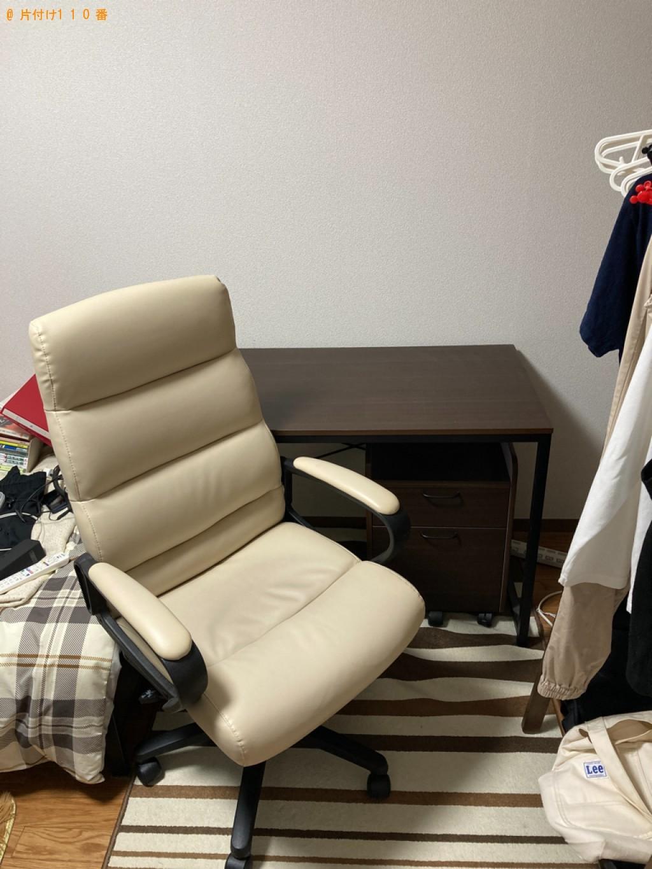【静岡市】椅子、学習机の回収・処分ご依頼 お客様の声