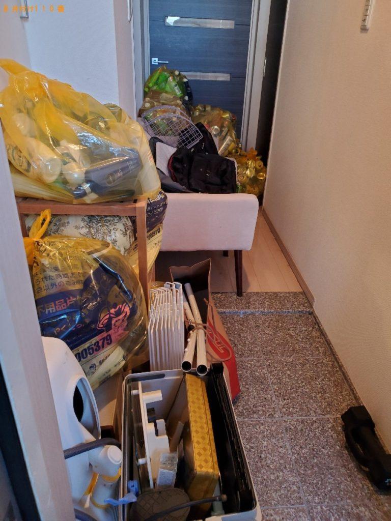 【熱海市】洗濯機、本棚、一般ごみ、ダンボール等の回収・処分ご依頼