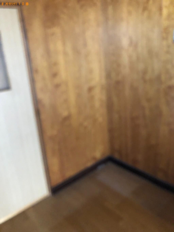 【静岡市】本棚、タンス、マットレス付きシングルベッドの回収・処分