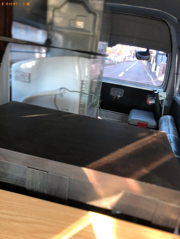 【静岡市】冷蔵庫、洗濯機、タンス、食器棚、カラーボックス等の回収