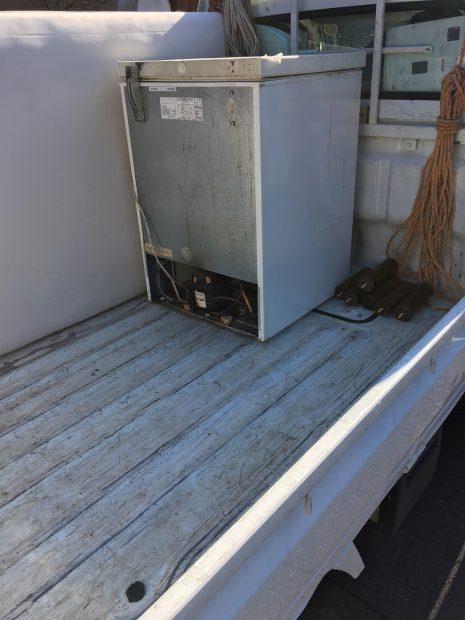 【松崎町】冷凍ストッカーを即日でスピード回収!長年邪魔になっていたものがなくなった、と喜んで頂けました!