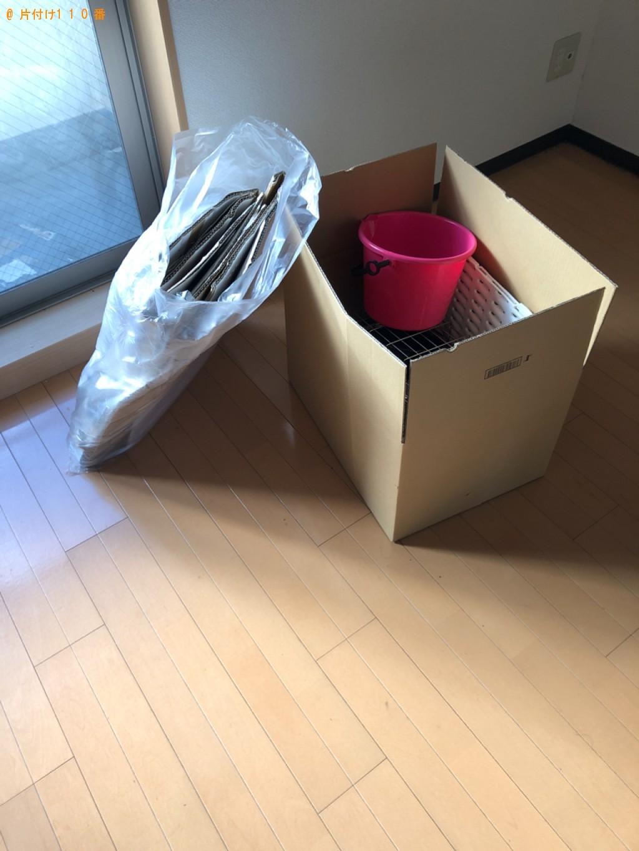 【静岡市】セミダブルベッド、折り畳みテーブル、アイロン台の回収