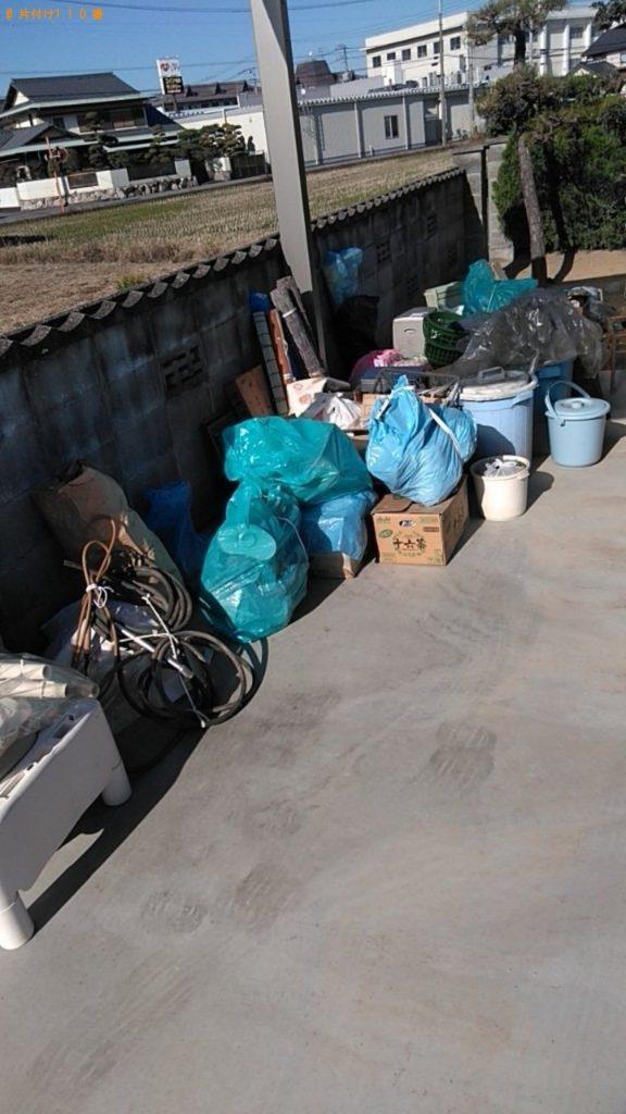 【沼津市】すだれ、食器、電気ストーブ、ビニール袋等の回収・処分