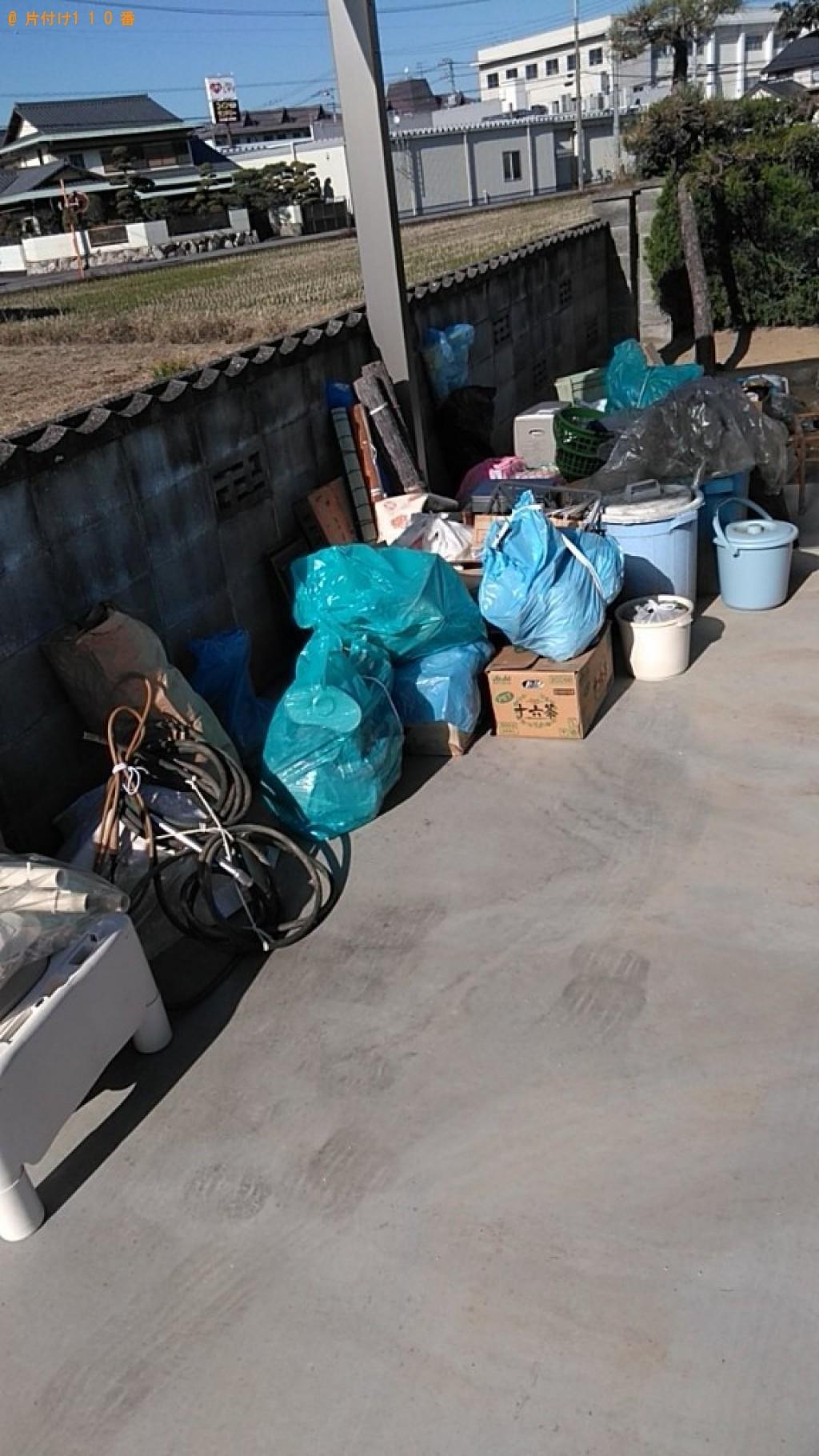 【静岡市】すだれ、食器、電気ストーブ、ビニール袋等の回収・処分