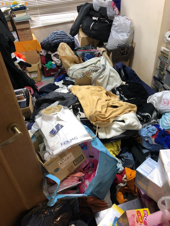 【伊東市】2LDKの部屋の不用品処分と片付けご依頼 お客様の声
