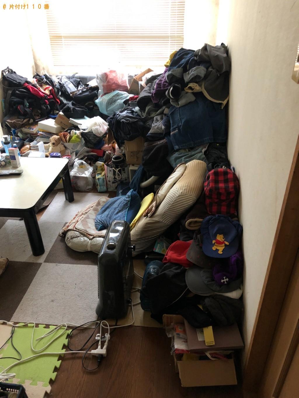 【沼津市】2LDKの部屋の不用品処分と片付けご依頼 お客様の声