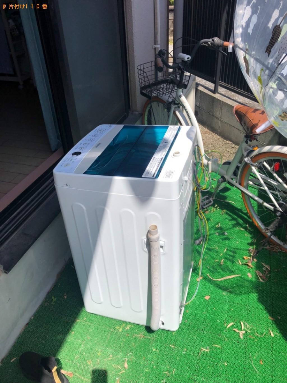 【裾野市】洗濯機の回収・処分ご依頼 お客様の声