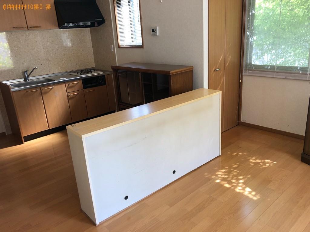 【三島市若松町】食器棚、タンス、テーブル等の回収・処分ご依頼