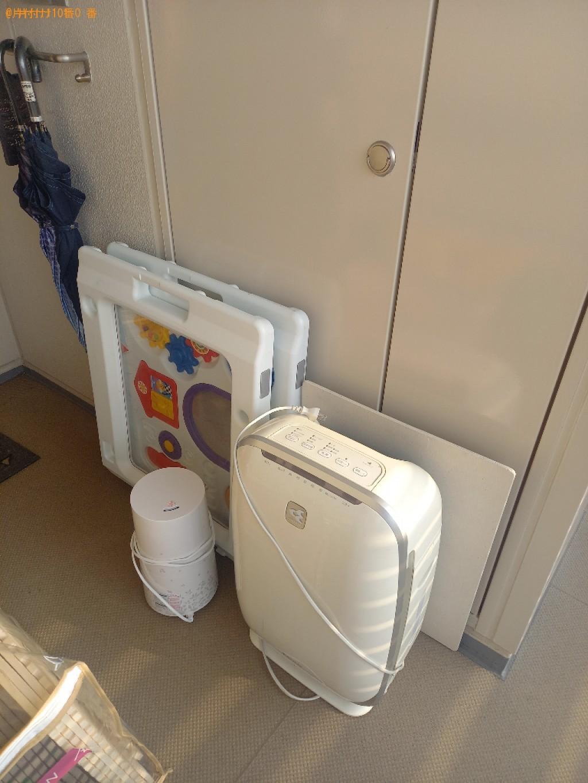 【静岡市】ベビー用品、空気清浄機、ジョイントマット等の回収・処分