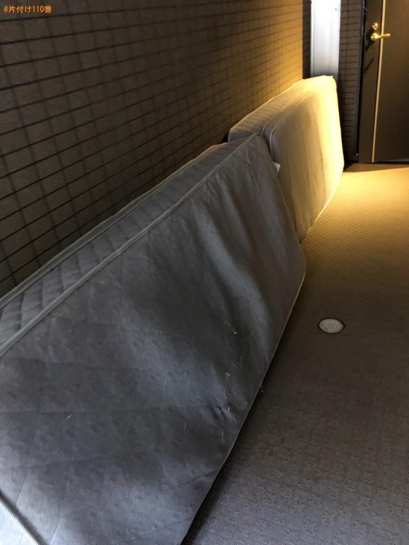 【沼津市】シングルベッドマットレスの回収・処分ご依頼 お客様の声