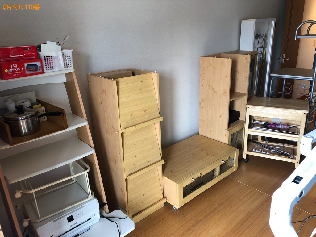 【裾野市】ベッド、椅子、炊飯器、電子レンジ、ガスコンロ等の回収